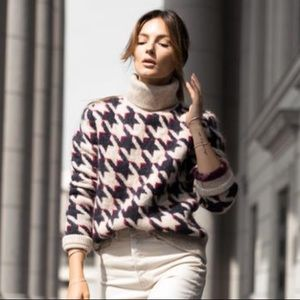 ISO WANT H&M Houndstooth sweater
